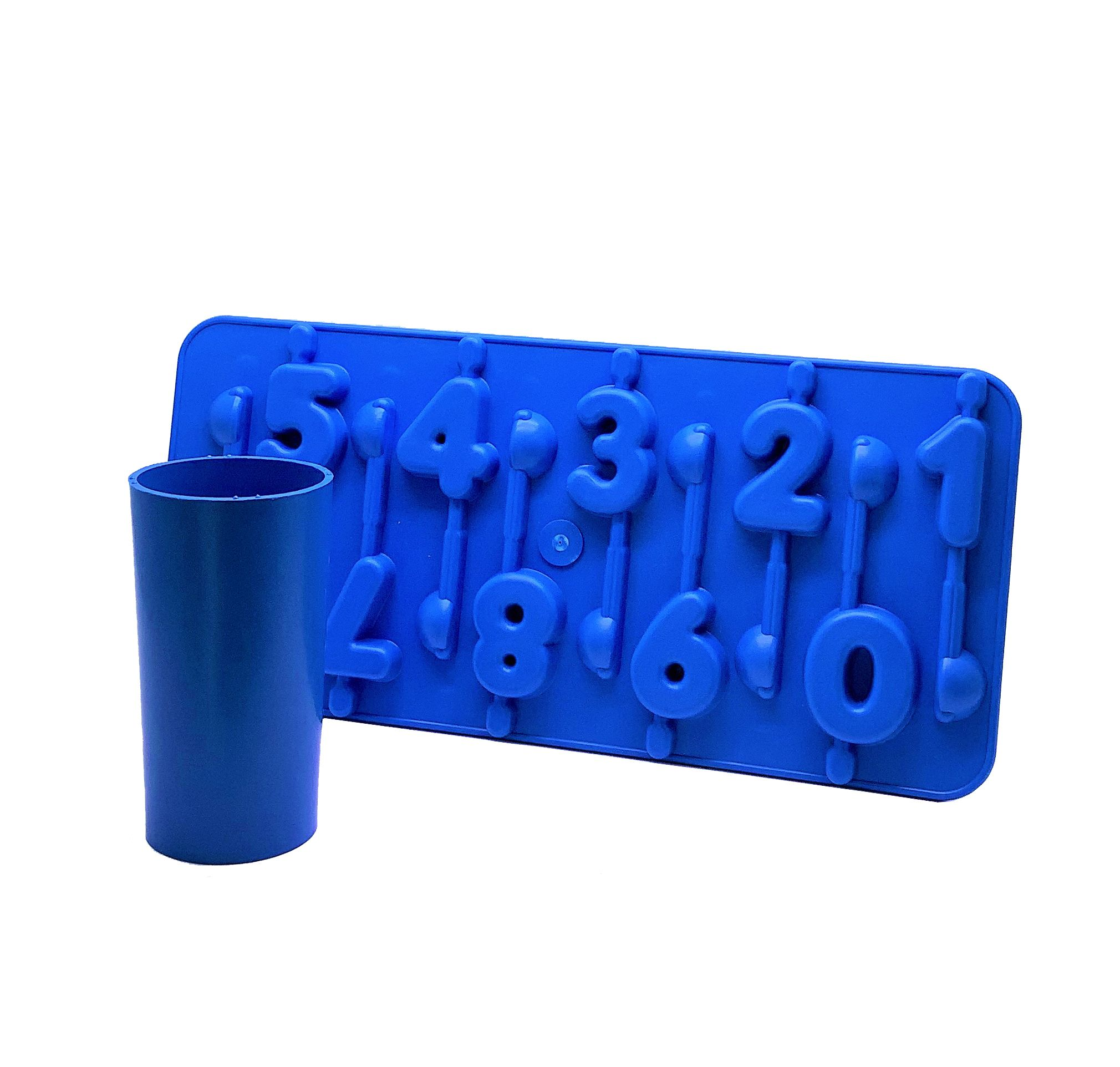 45mm tall Cylindrical Rigid plastic candle mould