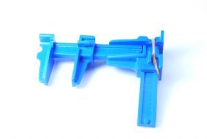Modellers Hobby / Craft Kit Plastic Parallel Slide Clamp, 75mm x 40mm (Small).